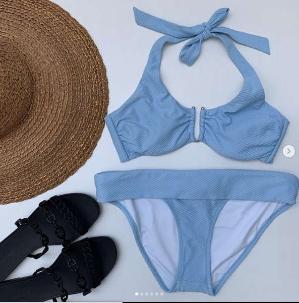 Swimming costumes, make a splash with our selected one piece swimsuits & bikinis.